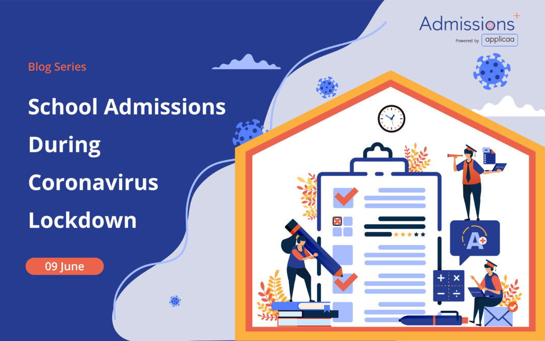 School Admissions During Coronavirus Lockdown